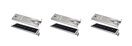 Silver Series LED Solar Street Lights >
