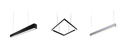 Hanging Linear Lights