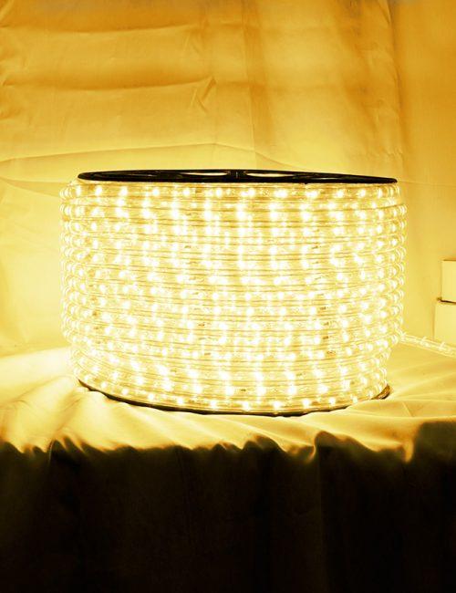 LED Rope Light Warm White Striplight Philippines Strip Lighting 100 Meters 100M