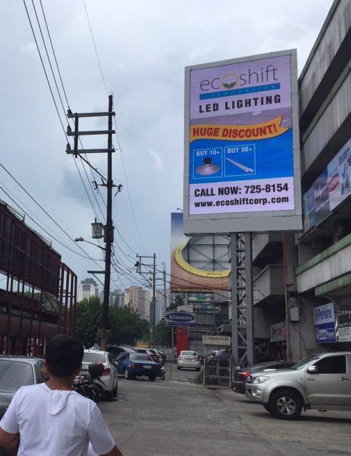 led video billboard EDSA Philippines