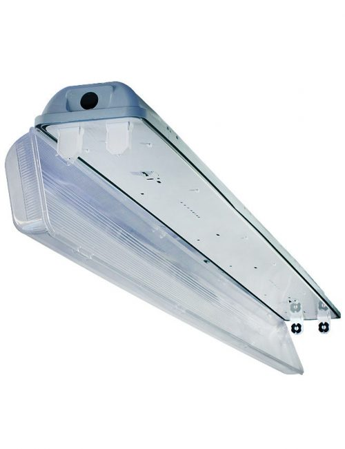 LED Housing and Fixtures Philippines T8 Tubelight Industrial Weather Proof IP40 G13