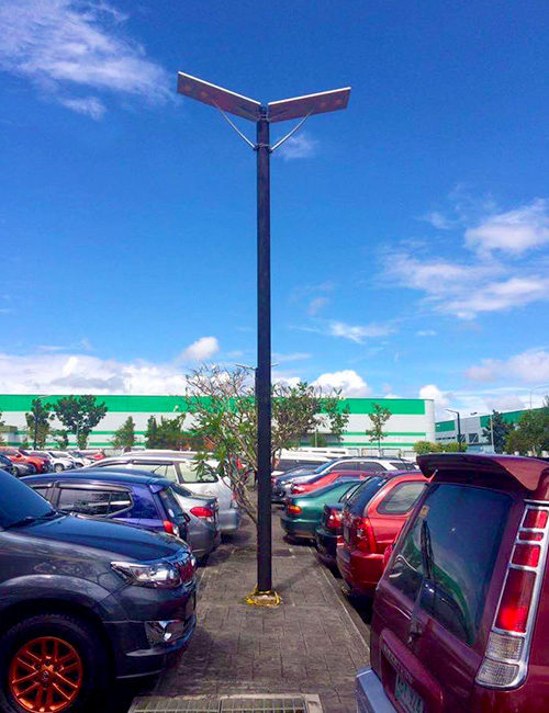 Integrated LED Solar Street Light 30W Daylight