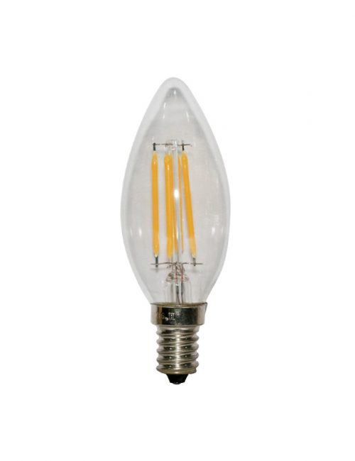 E12 Clear Candle LED Bulb Light Philippines 6W 6 Watts Daylight Warm Cool Nature White