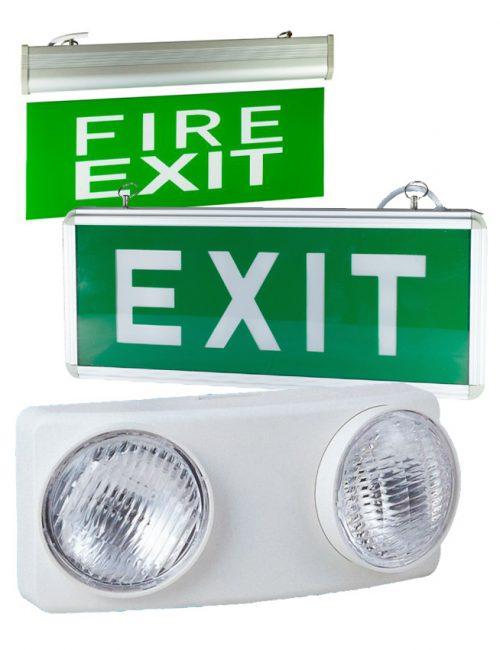 LED Emergency & Exit Lights