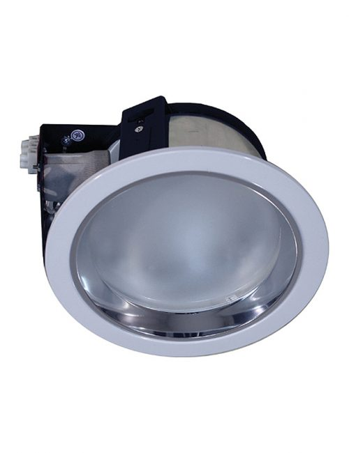 LED Housing and Fixtures Philippines Downlight Round E27 White with Glass Cover