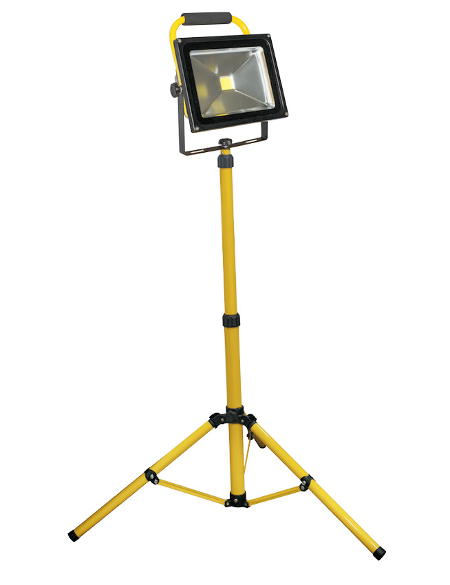 LED Canopy Light Philippines Single Head Stand 50W 50 Watts Rechargeable Flood Light