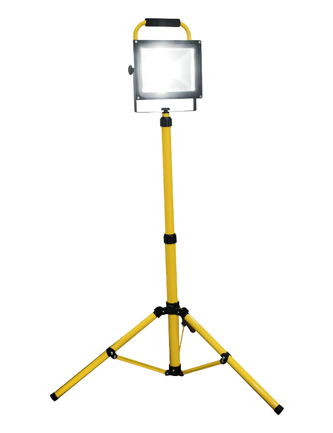 LED Canopy Light Philippines 30W 30 Watts Rechargeable Flood Light Single Head Stand