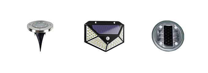 LED Solar Garden Lights >