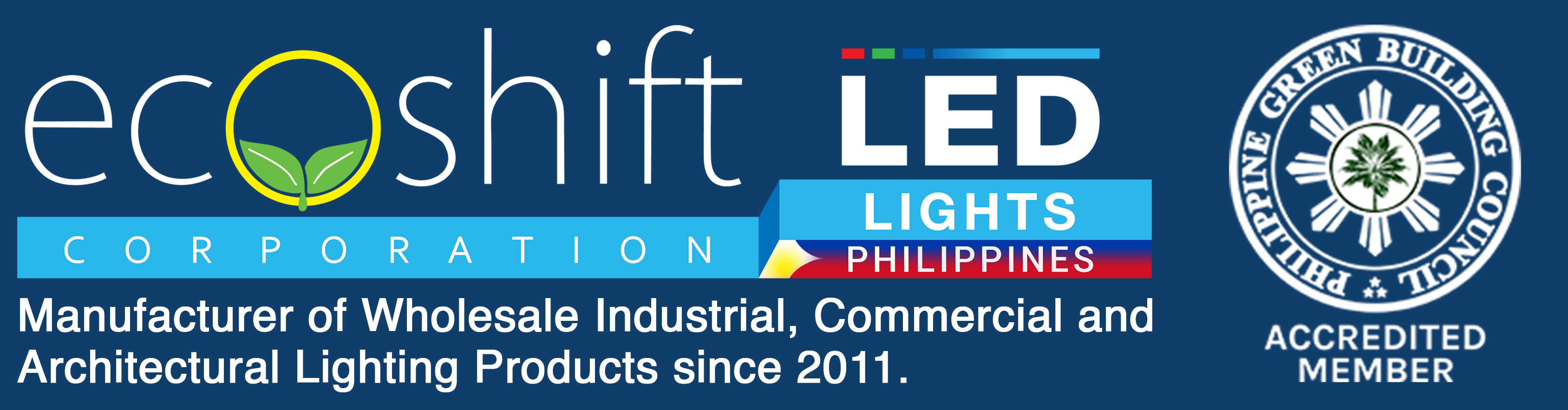 LED Lights Supplier Philippines – Ecoshift Corporation Logo